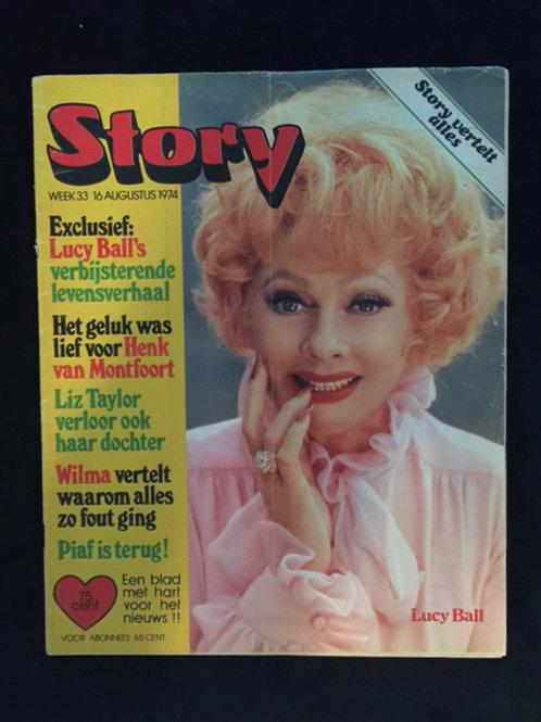 German Magazine Lucille Ball 1974