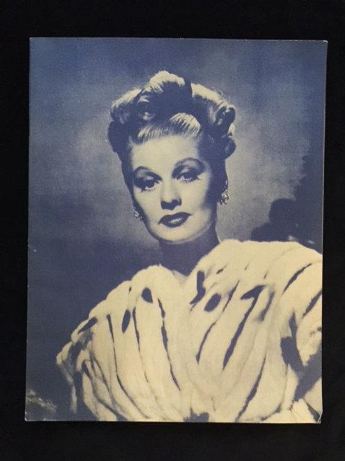 "1947 ""Dreamgirl"" Theater Program"