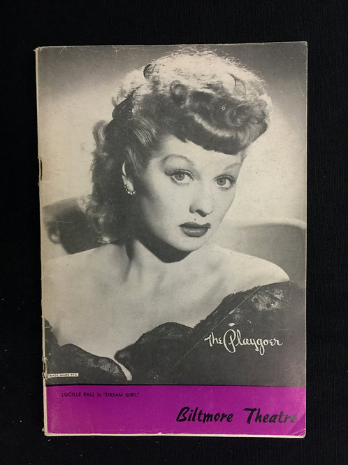 "The Playgoer ""Dream Girl"" Lucille Ball Cover"