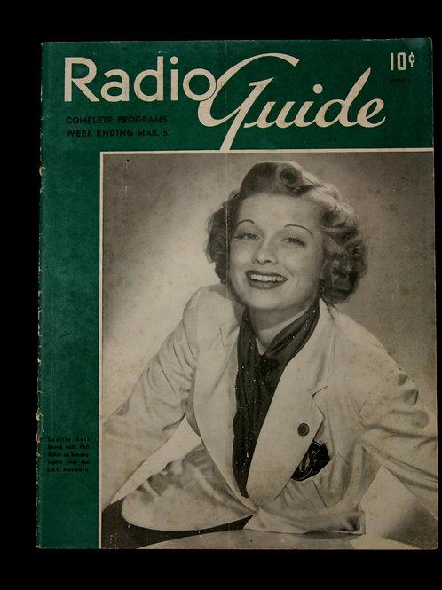 Radio Guide Magazine 1938