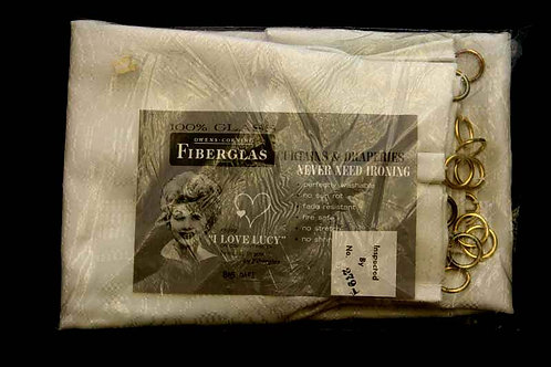 Lucille Ball Endorsed Curtains & Draperies