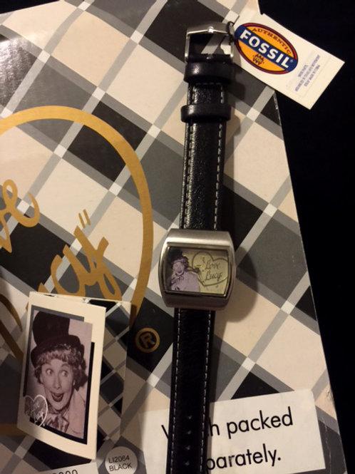Fossil Watch w. Harpo Marx Hat Display