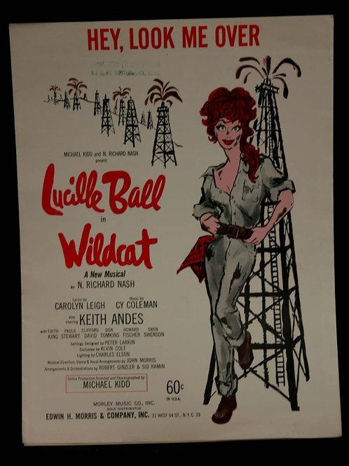 """Wildcat"" Sheetmusic"
