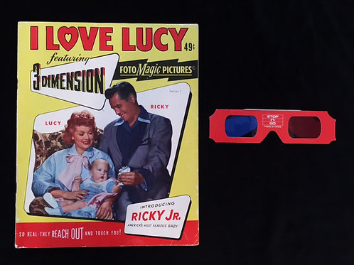 """I Love Lucy"" 3D Magazine With Glasses"