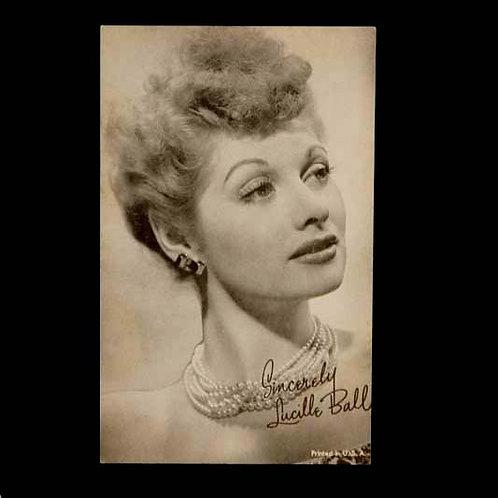 Lucille Ball Fascimile Postcard