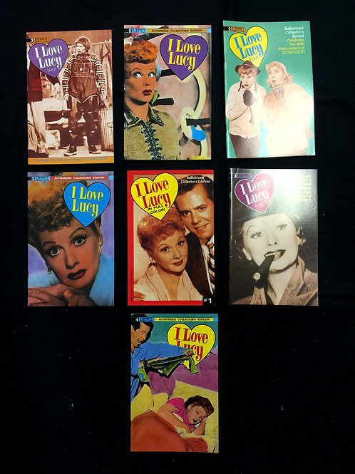 """Set of Second Edition """"I Love Lucy"""" Comic Books"""