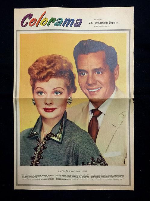 """Colorama"" Newsprint 1954"