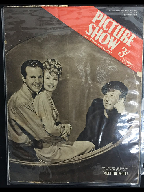 """""""Picture Show"""" Meet The People 1944"""
