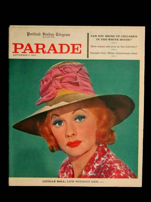 Parade Newspaper Supplement September 1960