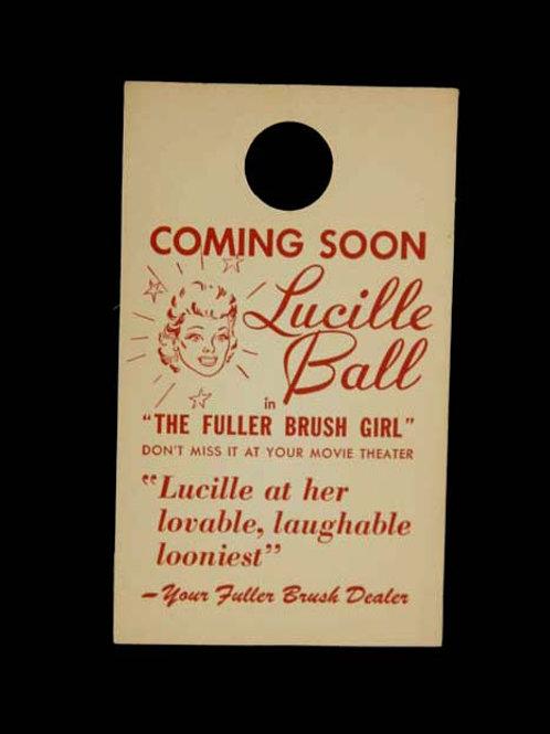 """The Fuller Brush Girl"" Door Tag"