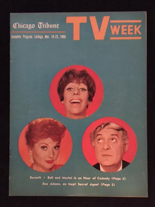 Chicago Tribune TV Week 1963