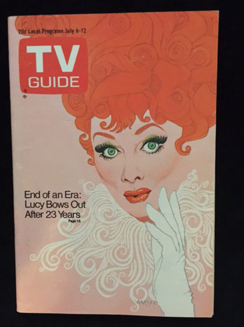 "TV Guide ""End Of An Era"""