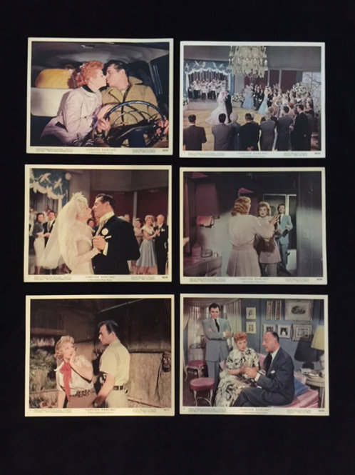 Forever Darling Lobby Card Lot