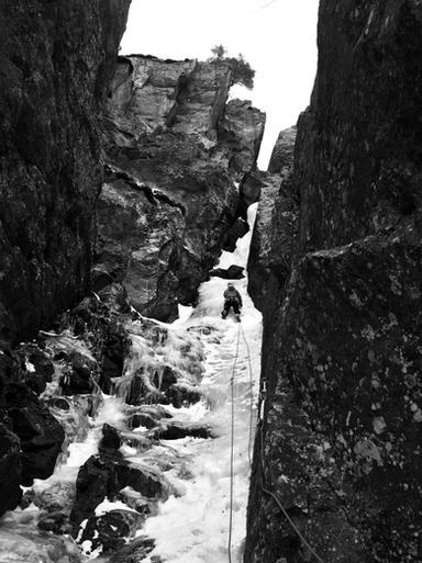 Un beau voyage en cascade de glace - Cogne