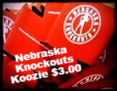 Buy your Nebraska Knockouts Koozie