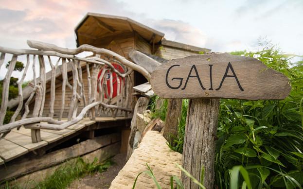 Cabane de hobbit Gaia