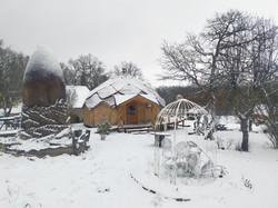 Zome sous la neige