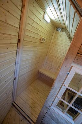 sauna cabane