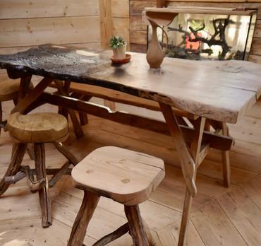table & chaises Gaïa