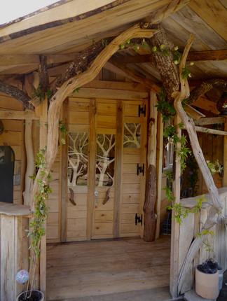 porte cabane de hobbit