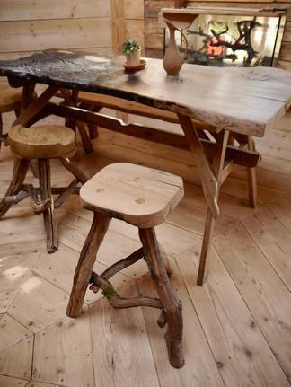 mobilier cabane de hobbit