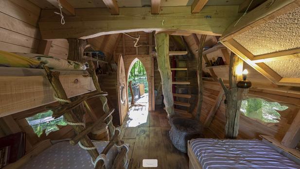 interieur cabane