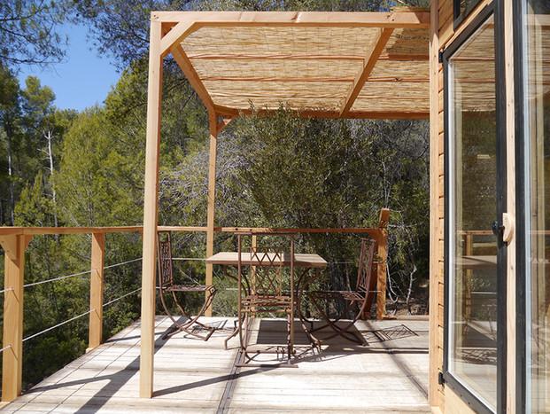 terrasse cabane