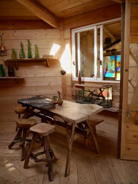 Interieur cabane de hobbit