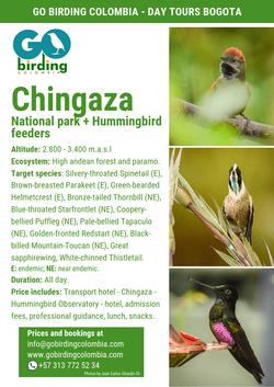 Chingaza National Park + Hummingbird Observatory.