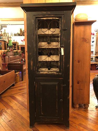 Black Wine Cabinet