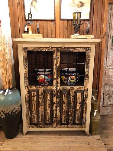Double Iron Door Cabinet