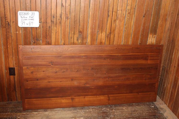 Yellow Pine Table w/Breadboard