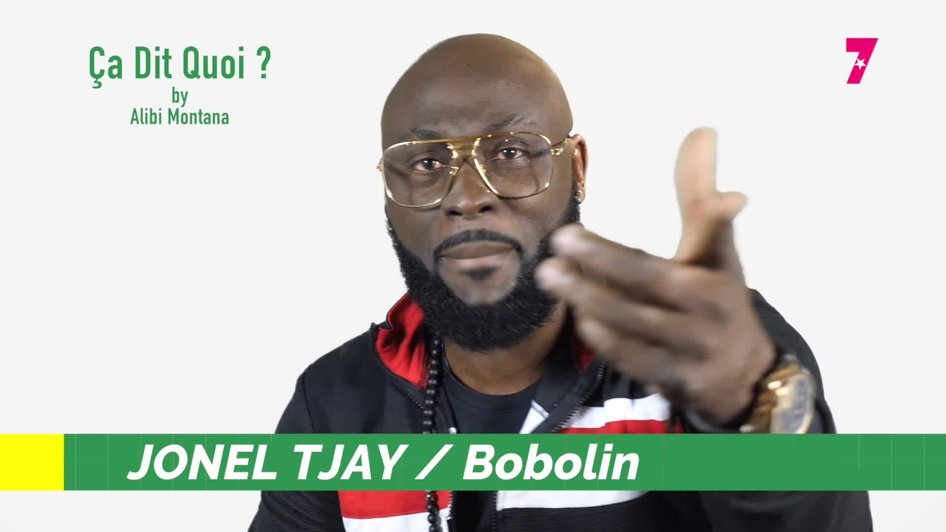 #ça_dit_quoi?  Jonel Tjay sort #Bobolin