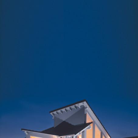 Villa in bioedilizia design