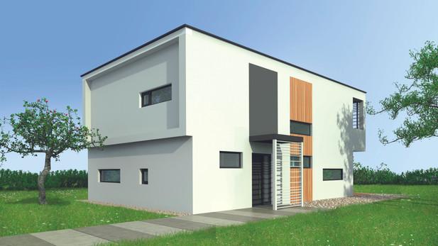Villa design in bioedilizia