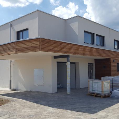 Villa in bioedilizia a tetto piano