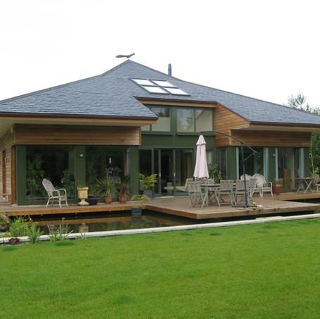 Villa in bioedilizia zen