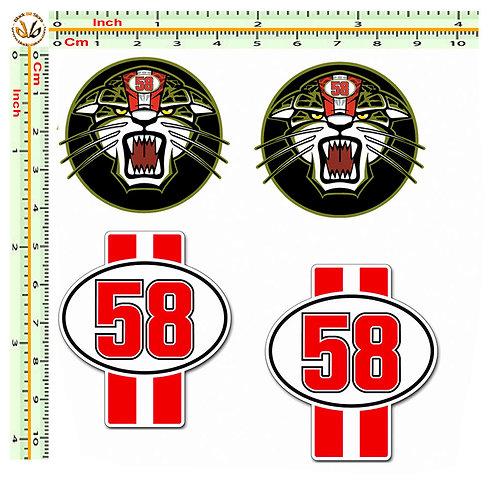 Simoncelli 58 e trigre 4 adesivo