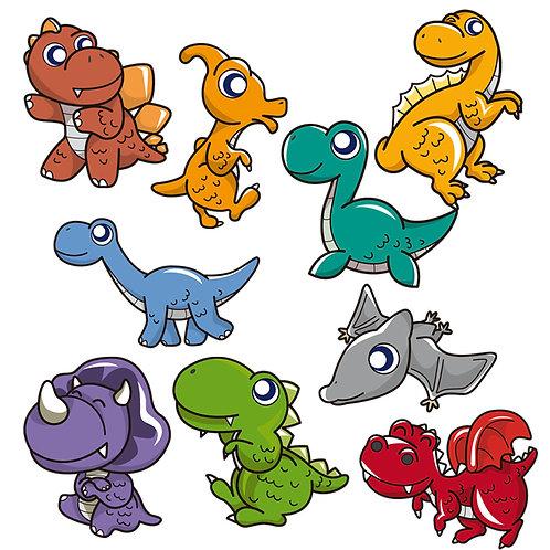 Wall Stickers Dinosauri