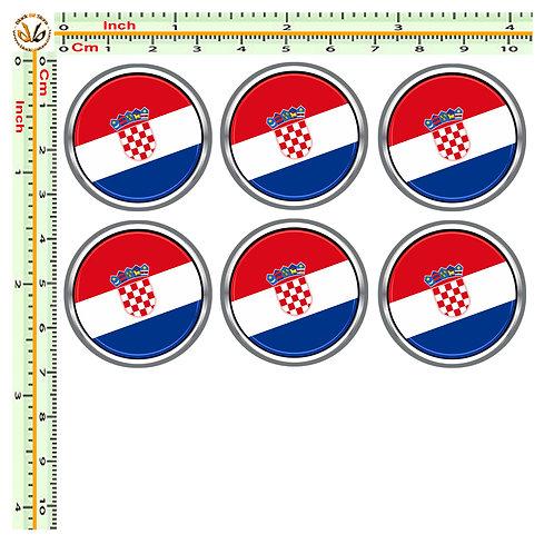 Adesivi targa bandiera croazia flag sticker license plate