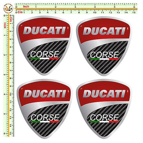 Ducati corse 4 sticker