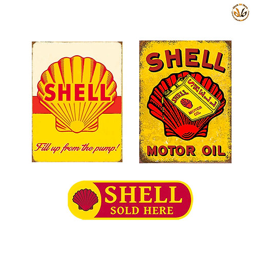 Adesivi shell vintage sold here Sticker helmet auto moto
