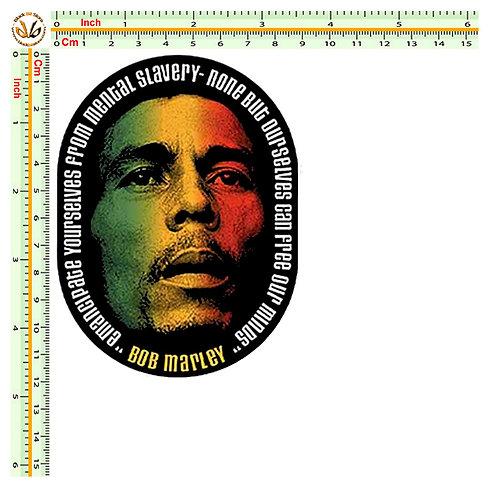 Bob Marley 1 Adesivo