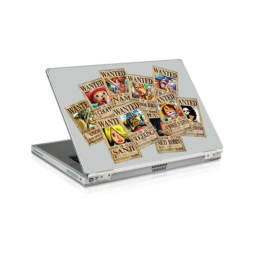 Adesivo Notebook One Piece Wanted