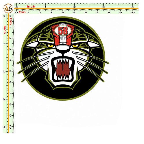 Simoncelli tigre 1 adesivo