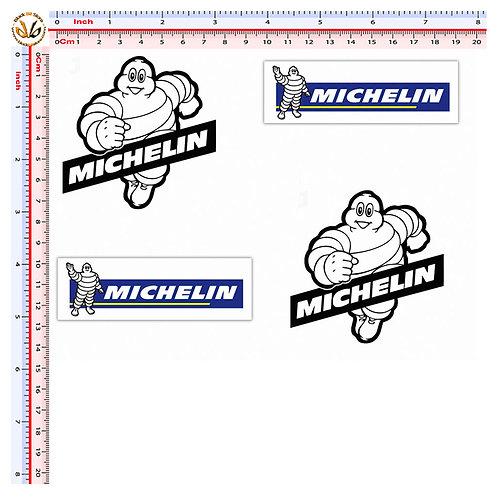 Stickers michelin sponsor 4 pz.