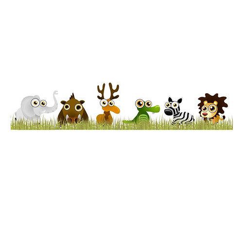 Wall Stickers Animali Zoo