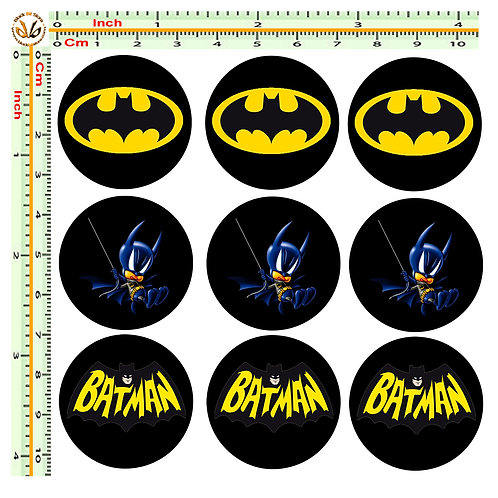 Adesivi targa batman cartoon sticker license plate
