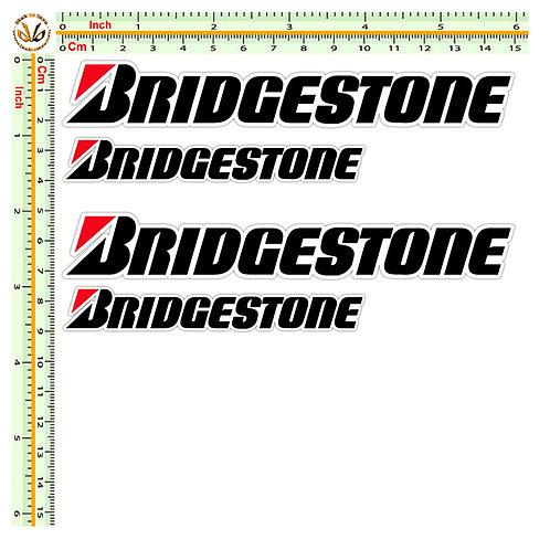 Stickers Bridgestone 4 pz. cm 10-15