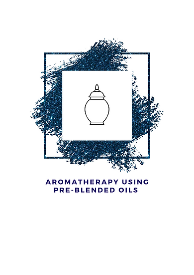 Aromatherapy Using Pre-Blended Oils